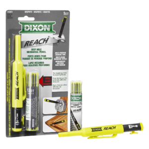 Dixon Industrial Red And Black Carpenter Pencils Dixon